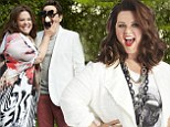 'They all said no': Melissa McCarthy reveals designers wouldn't dress her for 2012 Oscars... as she goofs around with husband