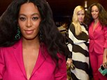 Celebrity mothers Solange and Rachel Zoe hang out at Gucci beauty launch in NYC