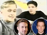 How far they've come! A 12-year-old suspender-wearing Ryan Gosling seeks acting advice from pal JC Chasez in unearthed Mickey Mouse Club video