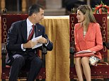 Crown Prince Felipe and his wife Princess Letizia have today made their first public appearance since King Juan Carlos announced his plans to abdicate