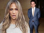 Rough patch: Jennifer Lopez, shown last month in Los Angeles, reportedly had a 'rough patch' with beau Casper Smart several months ago but had been working through their issues