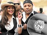 Engaged! La Toya Jackson, 58, accepted a proposal from business partner Jeffré Phillips, 46, 10 months ago when he presented her with 17.5c diamond