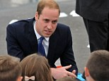 The Duke of Cambridge visits Goole High School to launch the new SkillForce Junior Prince's Award