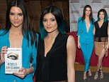 Putting on a brave face: Despite bad reviews, Kendall and Kylie Jenner proudly promoted their new novel Rebels: City Pf Indra: The Story Of Lex And Livia at Bookends, Bookstore in Ridgewood, New Jersey on Tuesday
