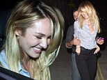 Candice Swanepoel is worse for wear