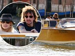 All aboard the love boat! Richie Sambora and girlfriend Orianthi take to the famed canals of Venice during romantic vacation