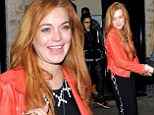 Her wild behaviour allegedly has raised eyebrows among some of her inner circle.  And Lindsay Lohan's appearance Tuesday night certainly won't help matters.