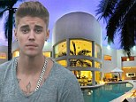 Bieber escapes race row in style as he holes up at luxury Mexican villa with singer pals Rita Ora and Khalil
