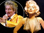 The reason I love blondes, by Rod Stewart: Singer admits having an 'infatuation' with Marilyn Monroe and Brigitte Bardot while growing up