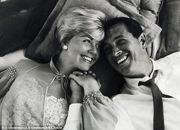 Box office hit: Doris Day starred alongside long-time friend Rock Hudson in the 1959 movie Pillow Talk