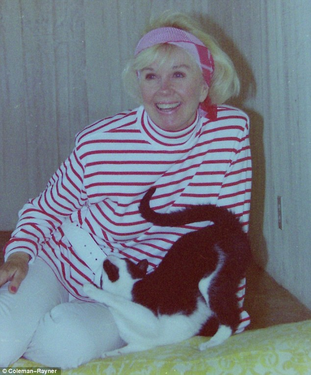 Animal lover: Doris Day is happiest when she's with her beloved pets, according to her former caretaker Sydney Wood