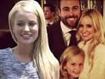 Bachelorette no more! Emily Maynard beams with happiness before 'surprise wedding' wearing pink dress and cowboy boots