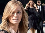 Tilda Swinton continues dramatic transformation as she dons wig and fake-tan as partner Sandro Kopp joins her on set