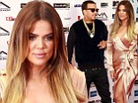 Now THAT'S commitment! Khloe Kardashian jets across the Atlantic to support boyfriend French Montana at MTV Africa Music Awards