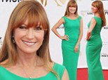 Safe choice: Jane Seymour wore the same green dress as she attended the opening cerceremony of the 54th Monte Carlo TV Festival at the Grimaldi Forum in Monte Carlo, Monaco, on Saturday, left, as she did in May, right