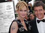 Melanie Griffith and Antonio Banderas SPLIT as she files for divorce after 18 years of marriage citing irreconcilable differences