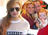 Lindsay Lohan's youngest brother 'rushed to hospital with high fever'... as father Michael opens up about being a single parent