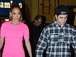 Done: Jennifer and Lopez, shown in March in Los Angeles,have broken up according to reports