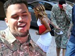 Prison food went down well then! Chris Brown shows off a fuller physique as he arrives at his get out of jail free party thrown by girlfriend Karrueche Tran