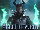 'Get witch or die tryin': Rapper 50 Cent sends up Angelina Jolie's evil queen character in hilarious spoof trailer MaleFiftyCent