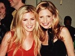 They could be sisters! Sarah Michelle Gellar links arms with lookalike Isla Fisher in cute snap for Throwback Thursday