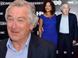 The many faces of Robert De Niro: He was having a great time at the event honouring his father