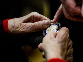 POW medals awarded to WWII Veterans
