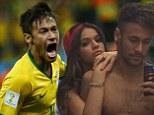 Intimate: Neymar and Gabriella Lenzi