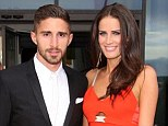 Together: Borini and O'Neill arrive at the Steven Gerrard Testimonial Gala Dinner together