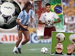 From the Telstar to the Brazuca via the farce of the Jabulani... how the World Cup ball has developed through the years