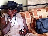 Armchair: Emmanuel Adebayor will be watching the World Cup from afar
