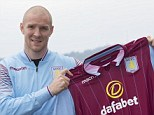 Deal: Philippe Senderos has joined Aston Villa on a two-year deal to become their first summer signing