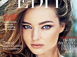 No bad days: Miranda Kerr opens up about positive thinking and coping with her split from Orlando Bloom in an interview with Net-A-Porter's The Edit