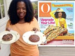 Oprah Winfrey discusses 'big decision' choosing between a cheeseburger, veggie burger, and hot dog as she graces cover of O Magazine