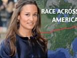 Race Across America route  pippa middleton race