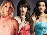 'I hate my voice!': Kaley Cuoco reveals insecurities in Hollywood Reporter roundtable with Emmy Rossum and Zooey Deschanel