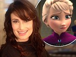 Life imitating art? Idina Menzel shares snap of 'impulsive two minute haircut' featuring bangs like her Frozen character Elsa