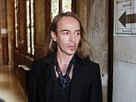 Road to recovery: John Galiano says that he has confronted his deamons and that his comeback will not disappoint fashion fans (pictured, the designer arrives at a Paris court house facing charges for his anti-Semitic remarks in May 2013)