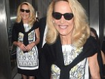 Rock chic! Jerry Hall, 57, parties all night with her new beau... and looks classy while doing so