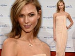She's a true Angel! Karlie Kloss exudes glamour as she supports the Make-A-Wish Foundation