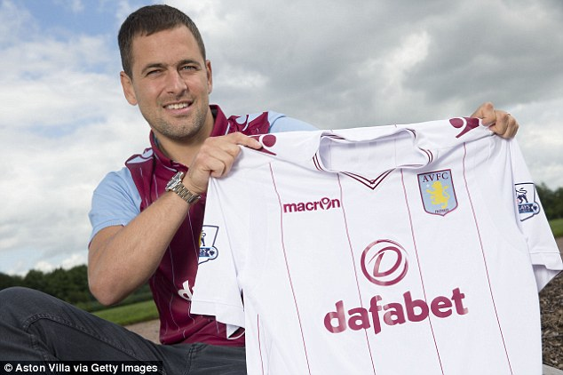 Positive: New Aston Villa signing Joe Cole says England have a good chance to win the World Cup