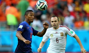 Spain v Holland: World Cup 2014 – live!