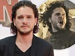 'I tend to let it do what it wants': Game of Thrones hunk Kit Harington reveals his lustrous head of curls comes naturally