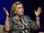 Hillary Rodham Clinton speaks at an event to discuss her new book in Washington, Friday, June 13, 2014. Clinton discussed choices and challenges she faced du...