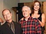 Kelsey Grammer's 20-year reign makes Frasier Crane the joint longest-running TV character in the U.S. alongside James Arness as Marshal Matt Dillon in Gunsmoke