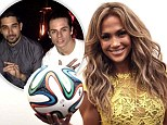 Casper Smart parties with Wilmer Valderrama at Maxim party as ex Jennifer Lopez has a ball at World Cup... one week after split