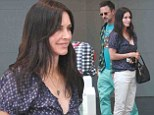 Still the best of friends! Courteney Cox and ex David Arquette look happy as they treat daughter Coco to birthday shopping spree