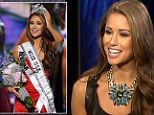 Nia Sanchez was crowned Miss USA on Sunday, but sources say she doesn't even live in Nevada - the state she represented in the competition