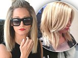 Soon-to-be-married Ashley Tisdale, 28, was back at Nine Zero One salon in West Hollywood on Thursday three days after debuting an Instagram snap of her new shorter hair style