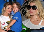 Ashlee Simpson shows off son Bronx, 5, at video game convention... as she shares details of sister Jessica's July 4 wedding